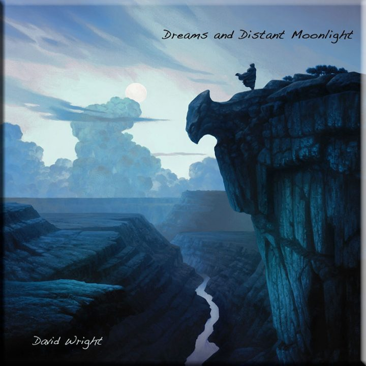Dreams Distant Moonlight by David Wright