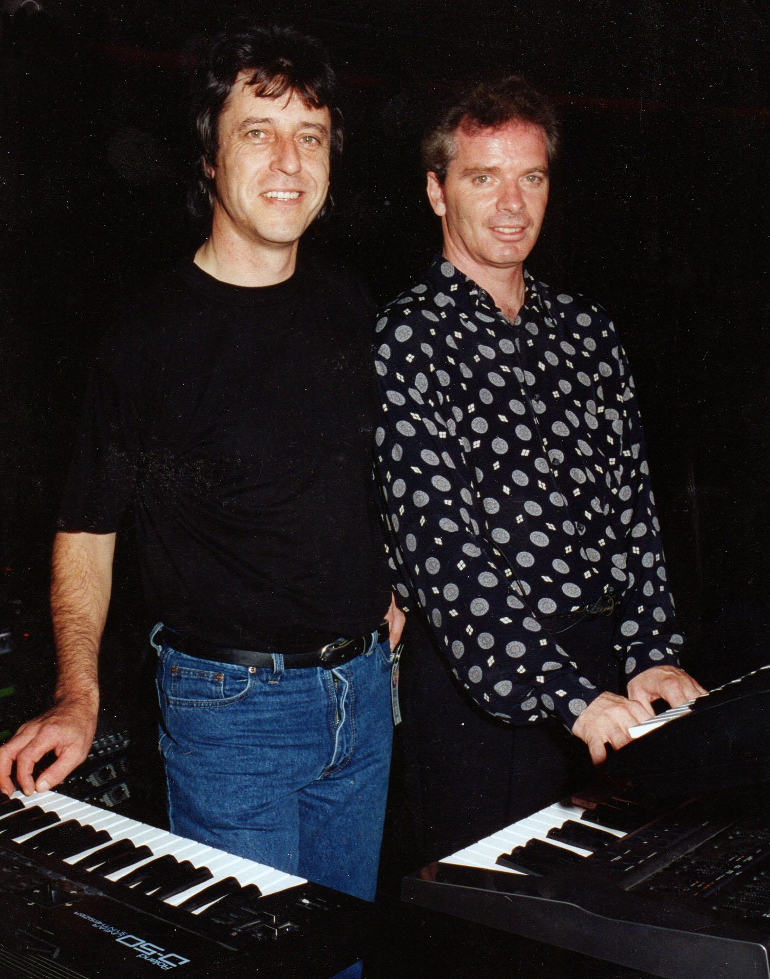 David Wright & Jonn Serrie, The London Planetarium, October 1995